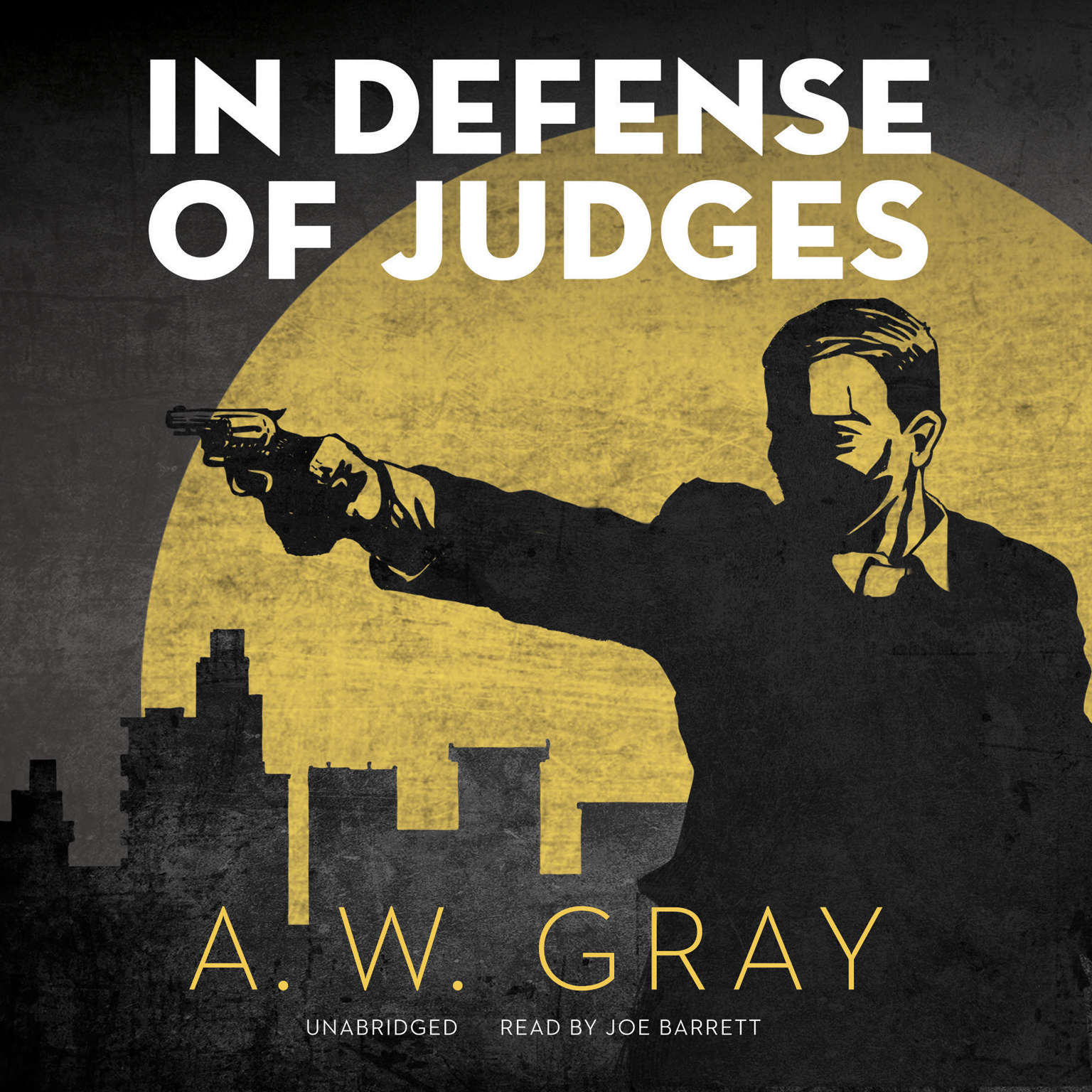 Printable In Defense of Judges Audiobook Cover Art
