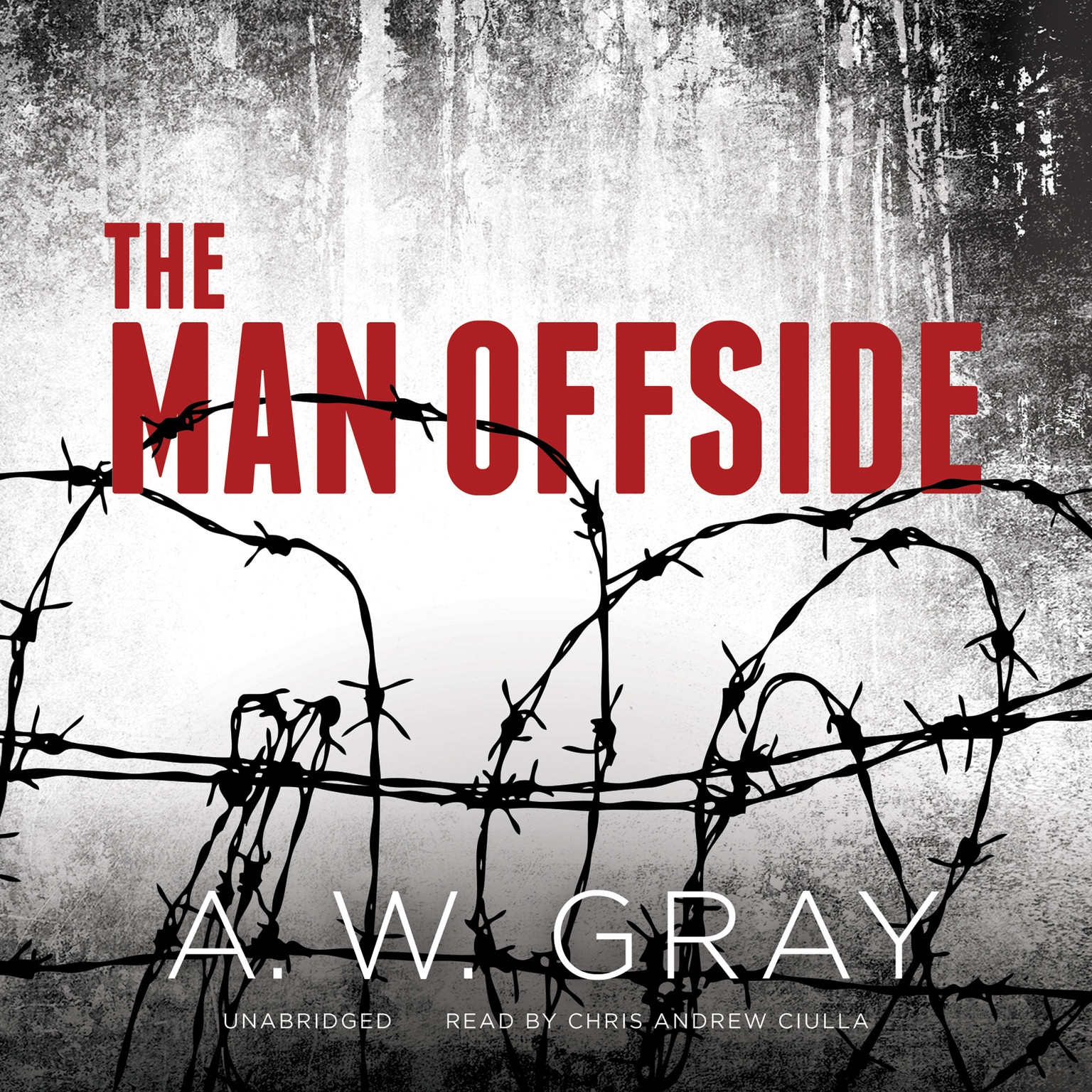 Printable The Man Offside Audiobook Cover Art