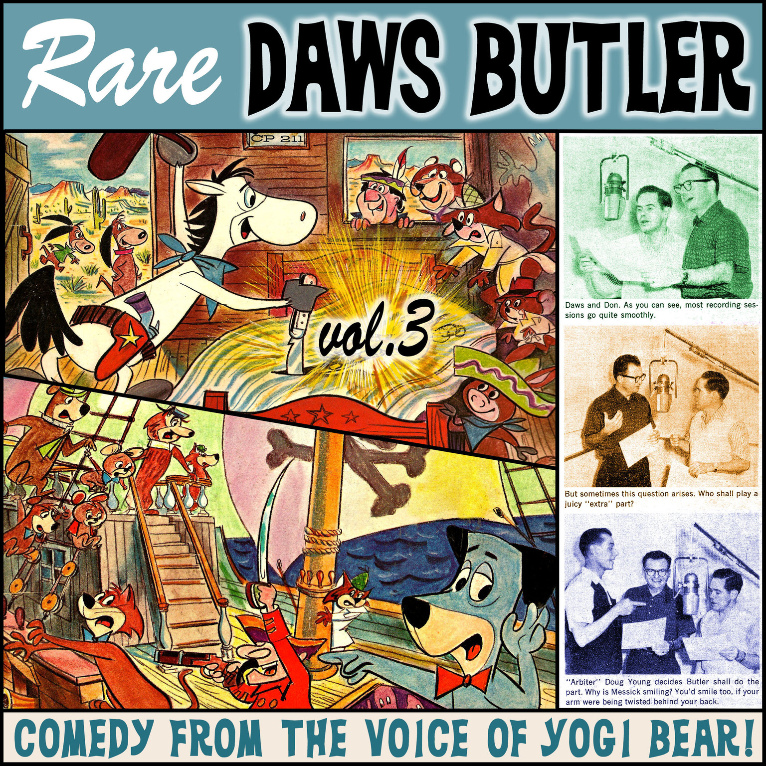 Printable Rare Daws Butler, Vol. 3 Audiobook Cover Art