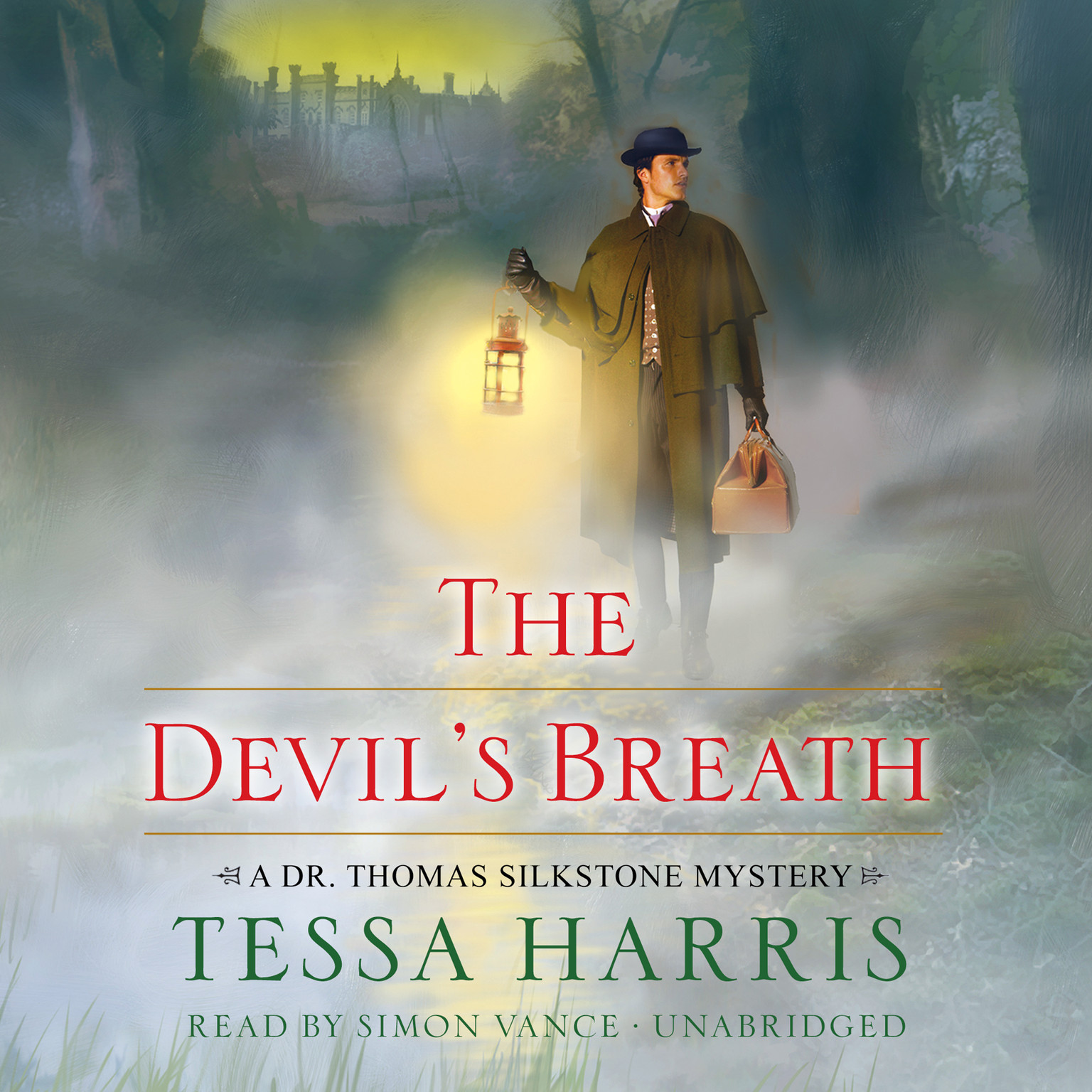 Printable The Devil's Breath: A Dr. Thomas Silkstone Mystery Audiobook Cover Art