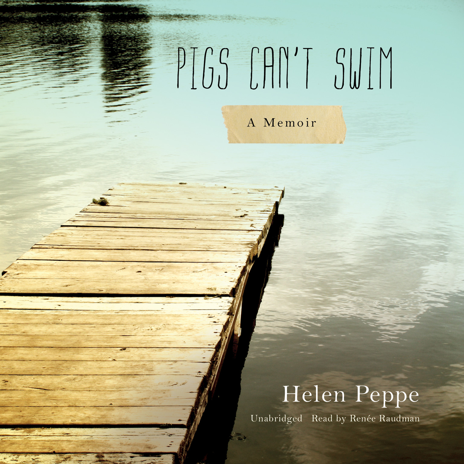 Printable Pigs Can't Swim: A Memoir Audiobook Cover Art