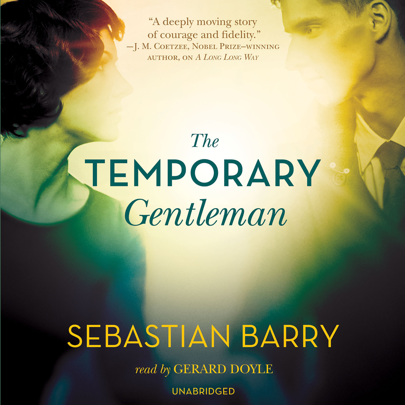 Printable The Temporary Gentleman Audiobook Cover Art
