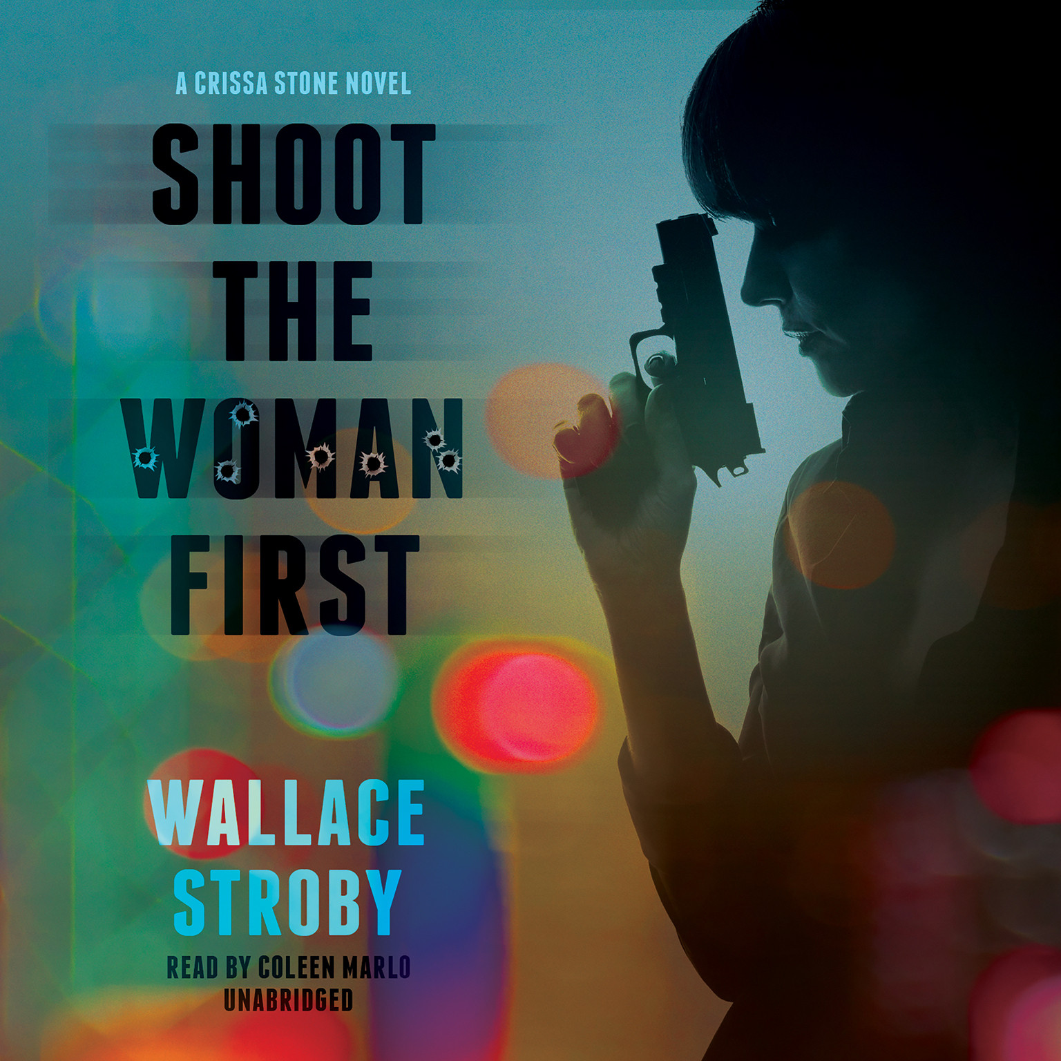 Printable Shoot the Woman First Audiobook Cover Art