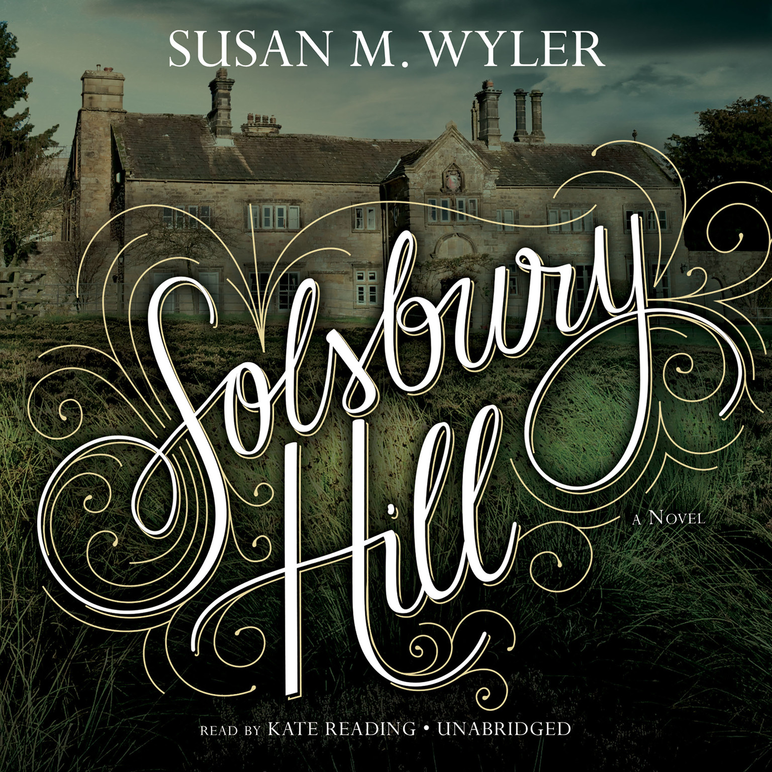 Printable Solsbury Hill Audiobook Cover Art