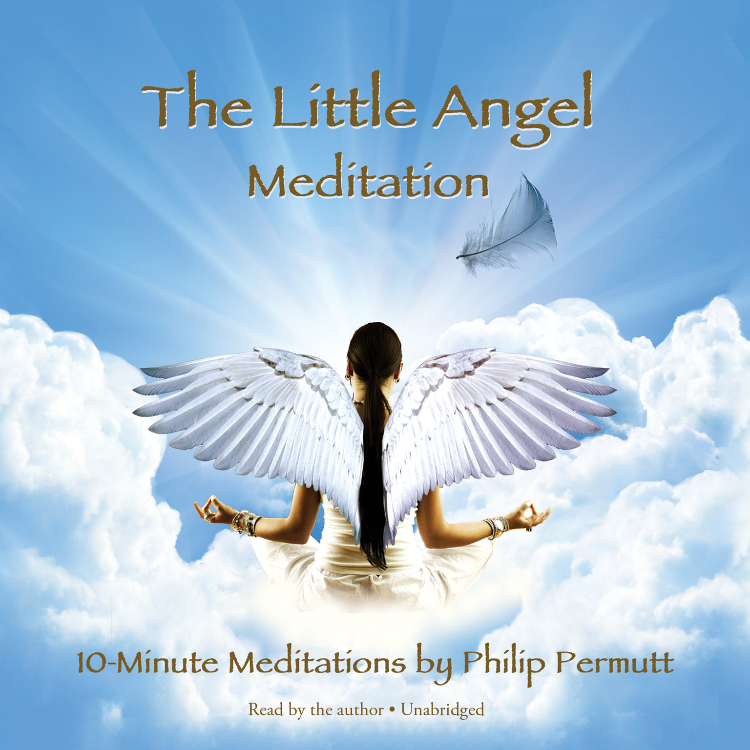 Printable The Little Angel Meditation Audiobook Cover Art