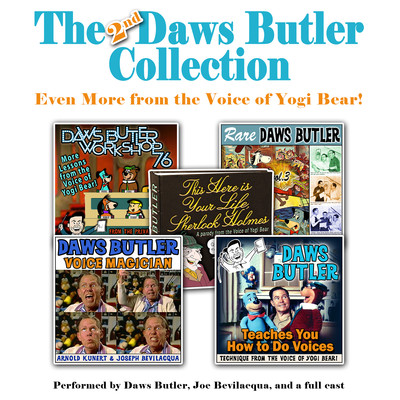 The 2nd Daws Butler Collection: Even More from the Voice of Yogi Bear! Audiobook, by Charles Dawson Butler