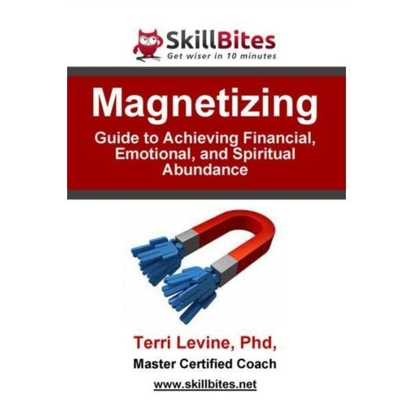 Printable Magnetizing: Guide to Achieving Financial, Emotional, and Spiritual Abundance Audiobook Cover Art