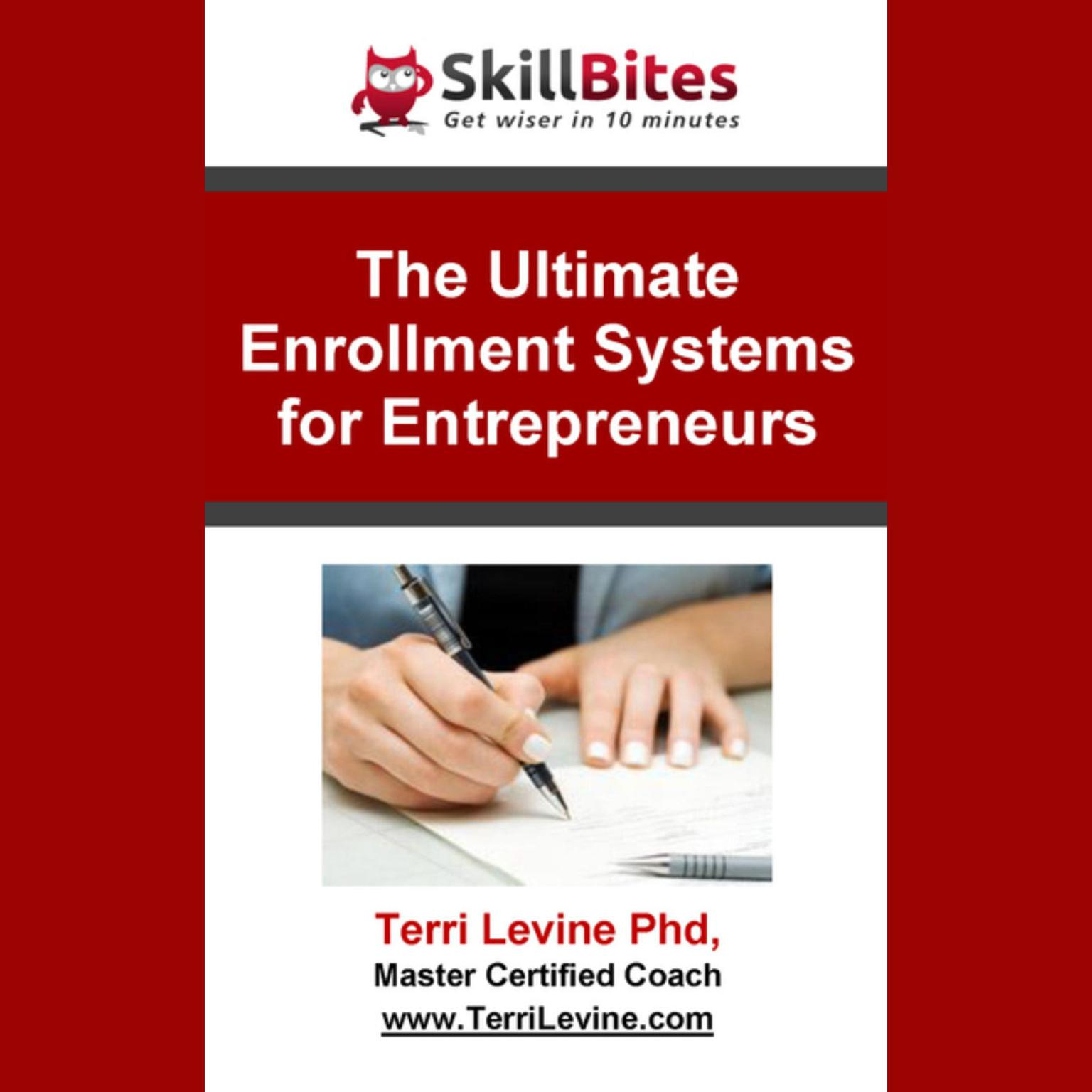 Printable The Ultimate Enrollment Systems for Entrepreneurs Audiobook Cover Art