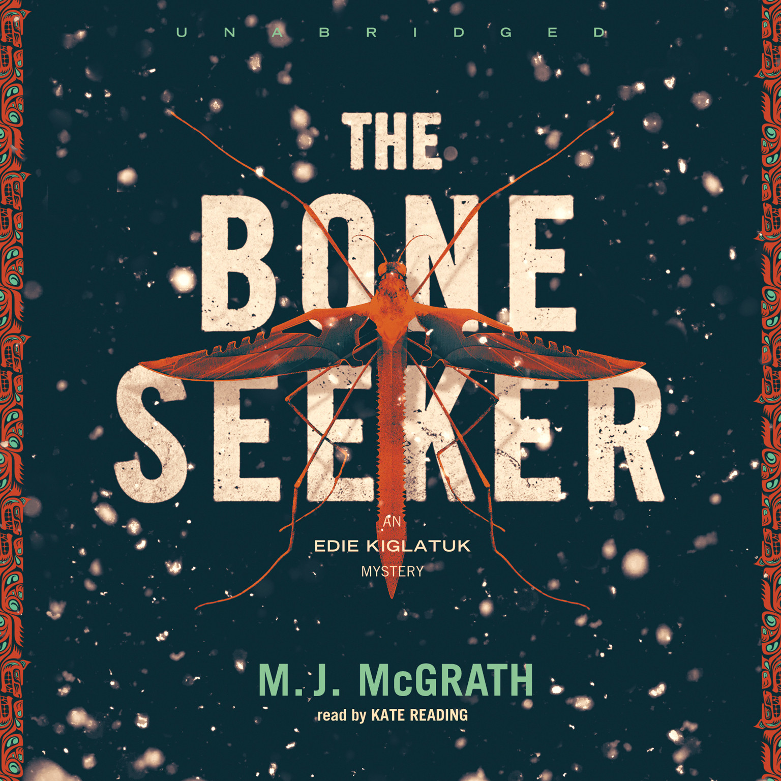 Printable The Bone Seeker Audiobook Cover Art