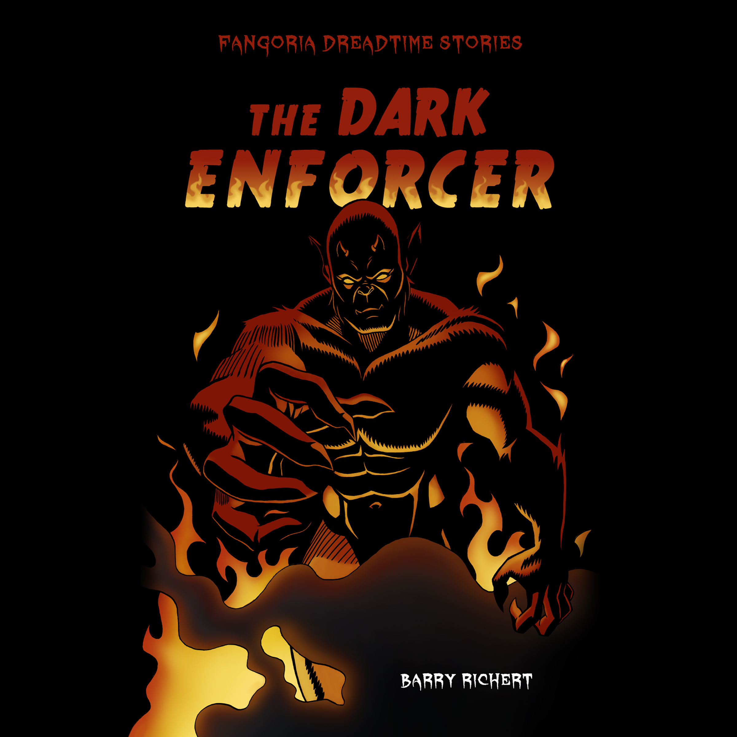 Printable The Dark Enforcer Audiobook Cover Art