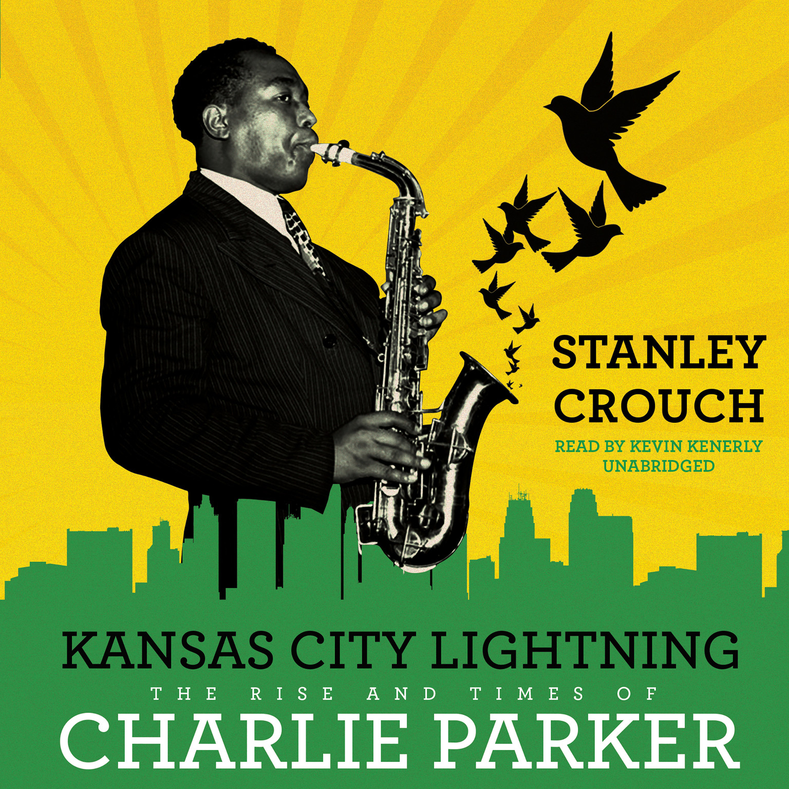 Printable Kansas City Lightning: The Rise and Times of Charlie Parker Audiobook Cover Art