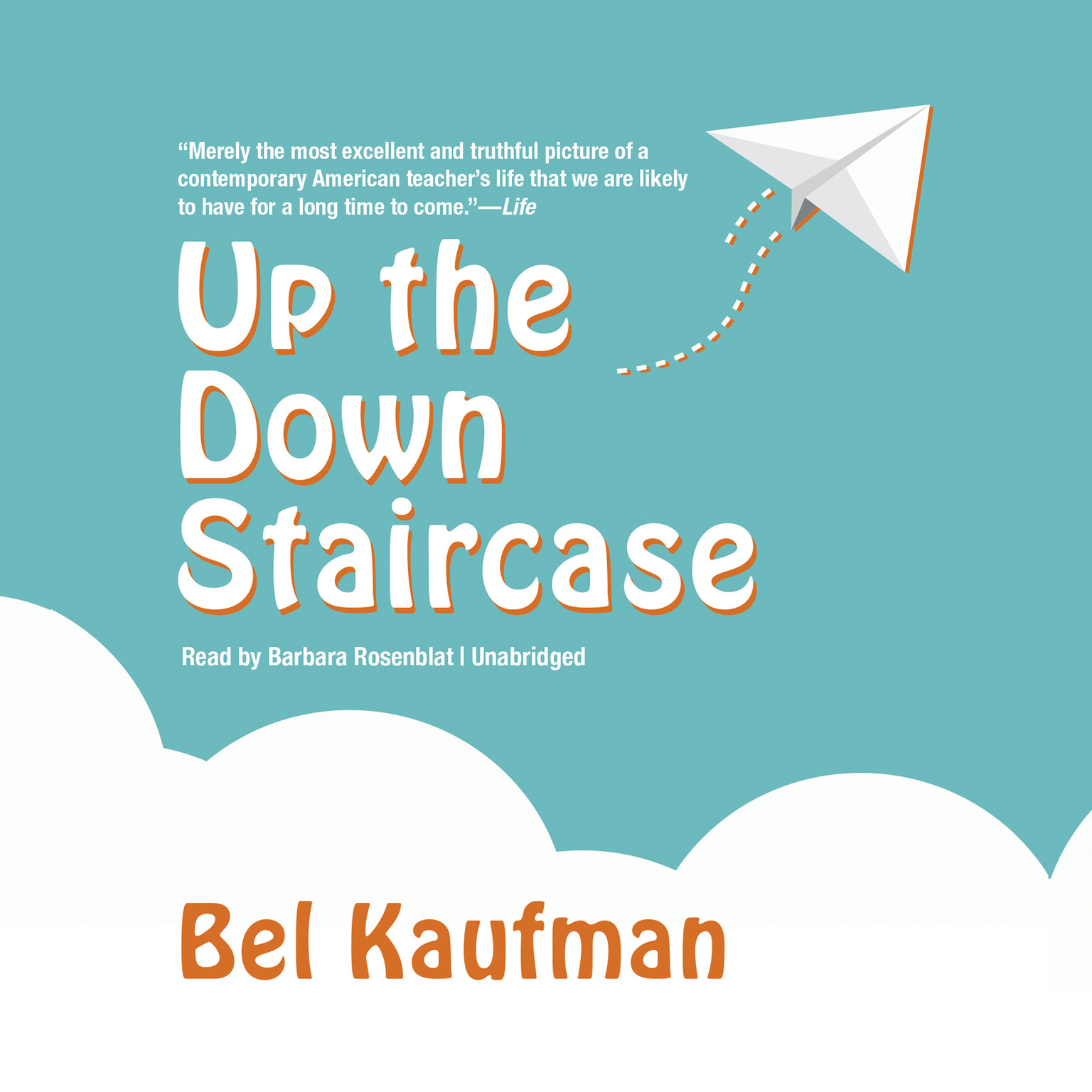 Printable Up the Down Staircase Audiobook Cover Art