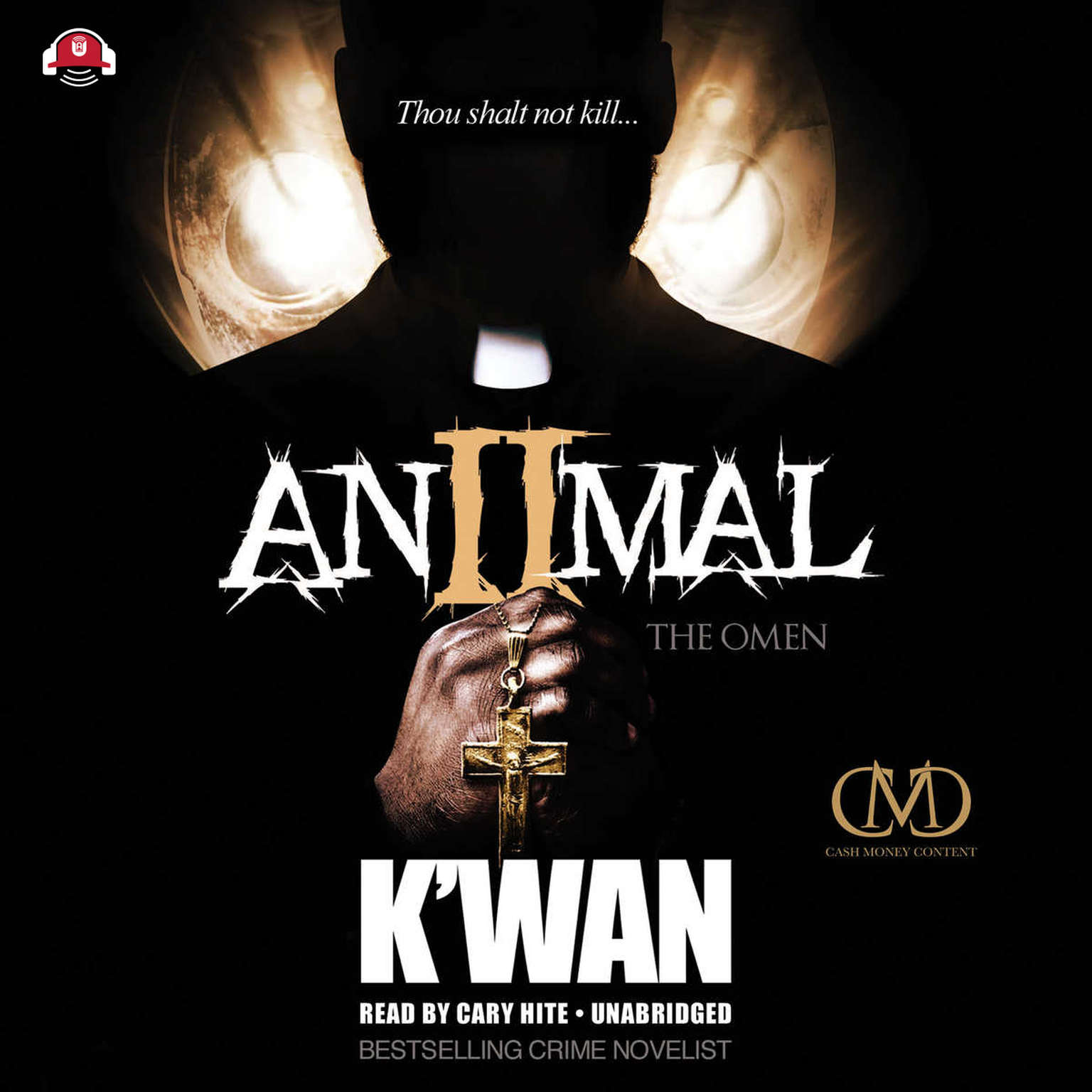 Printable Animal 2: The Omen Audiobook Cover Art