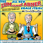 "The All New ""Lum & Abner"" Comic Strips, by Donnie Pitchford"