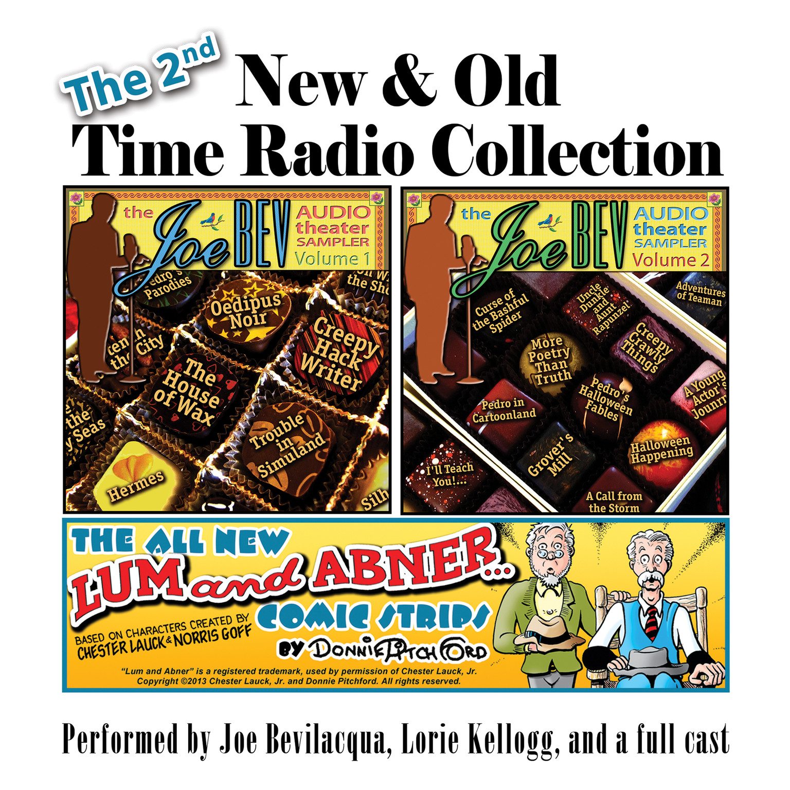 Printable The 2nd New & Old Time Radio Collection Audiobook Cover Art