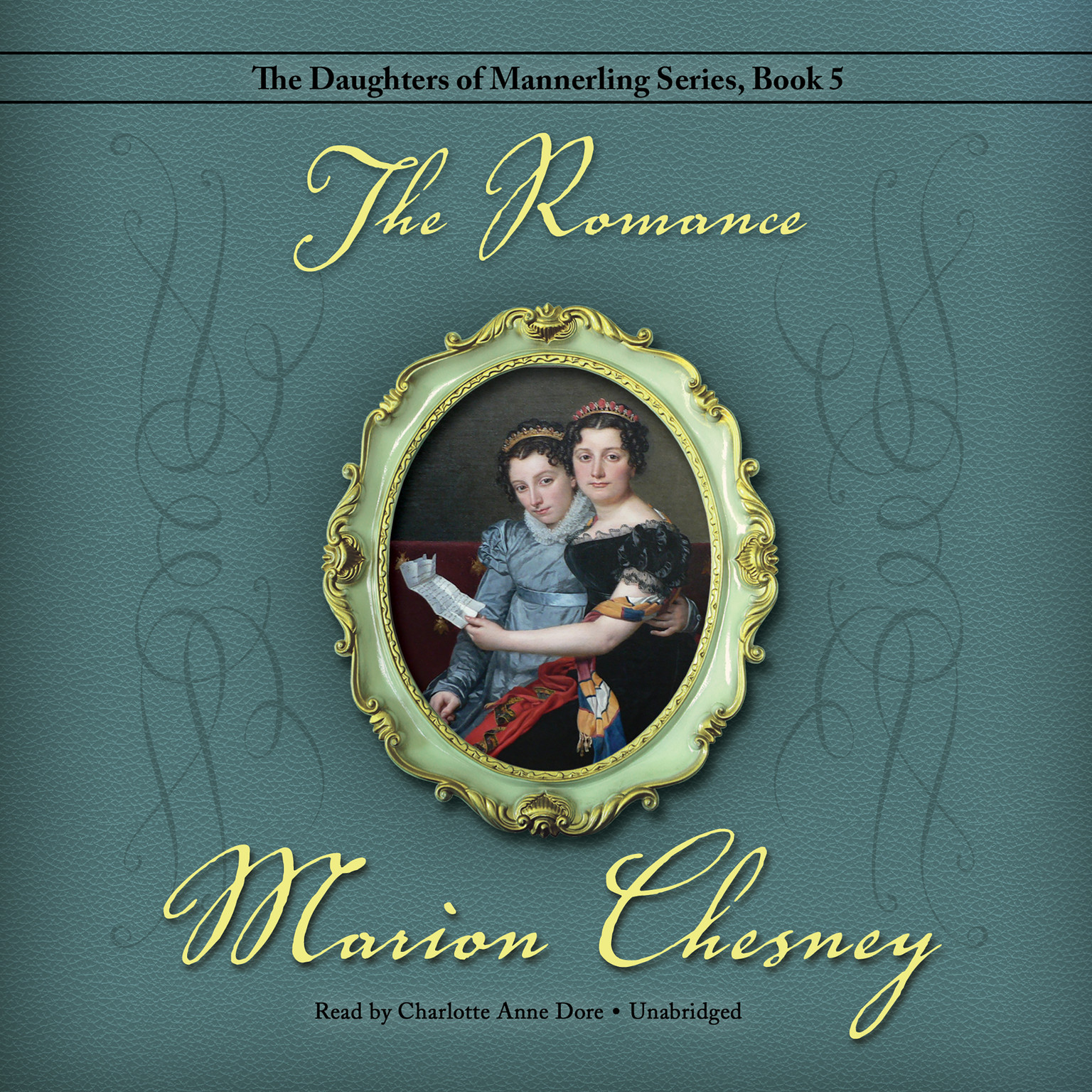 Printable The Romance Audiobook Cover Art