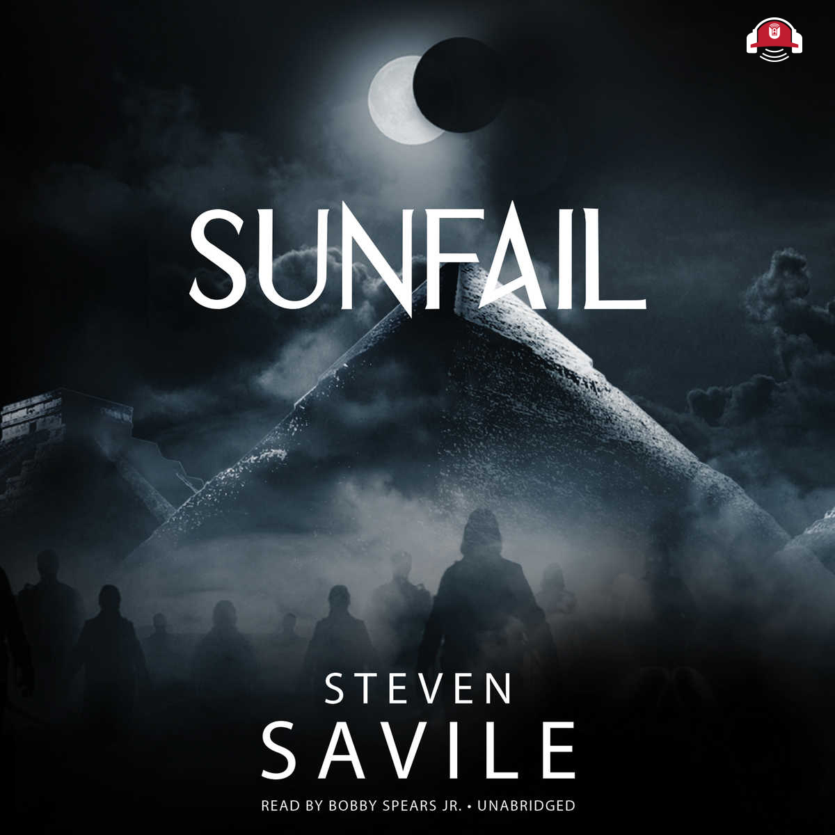Printable Sunfail Audiobook Cover Art