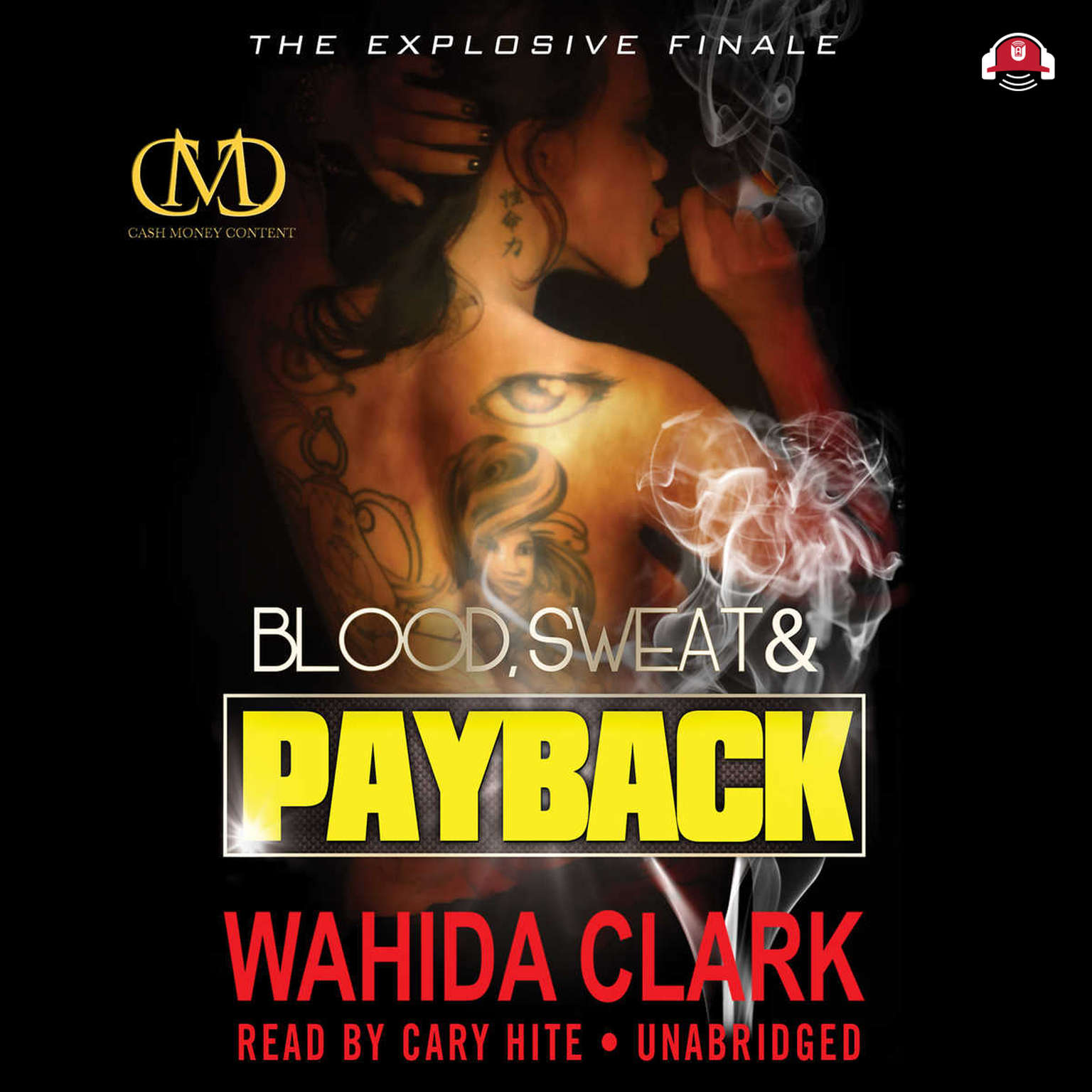 Printable Blood, Sweat, and Payback Audiobook Cover Art