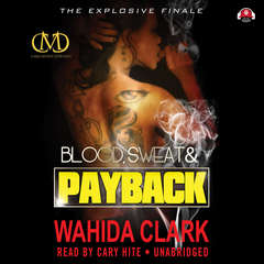 Blood, Sweat, and Payback Audiobook, by Wahida Clark