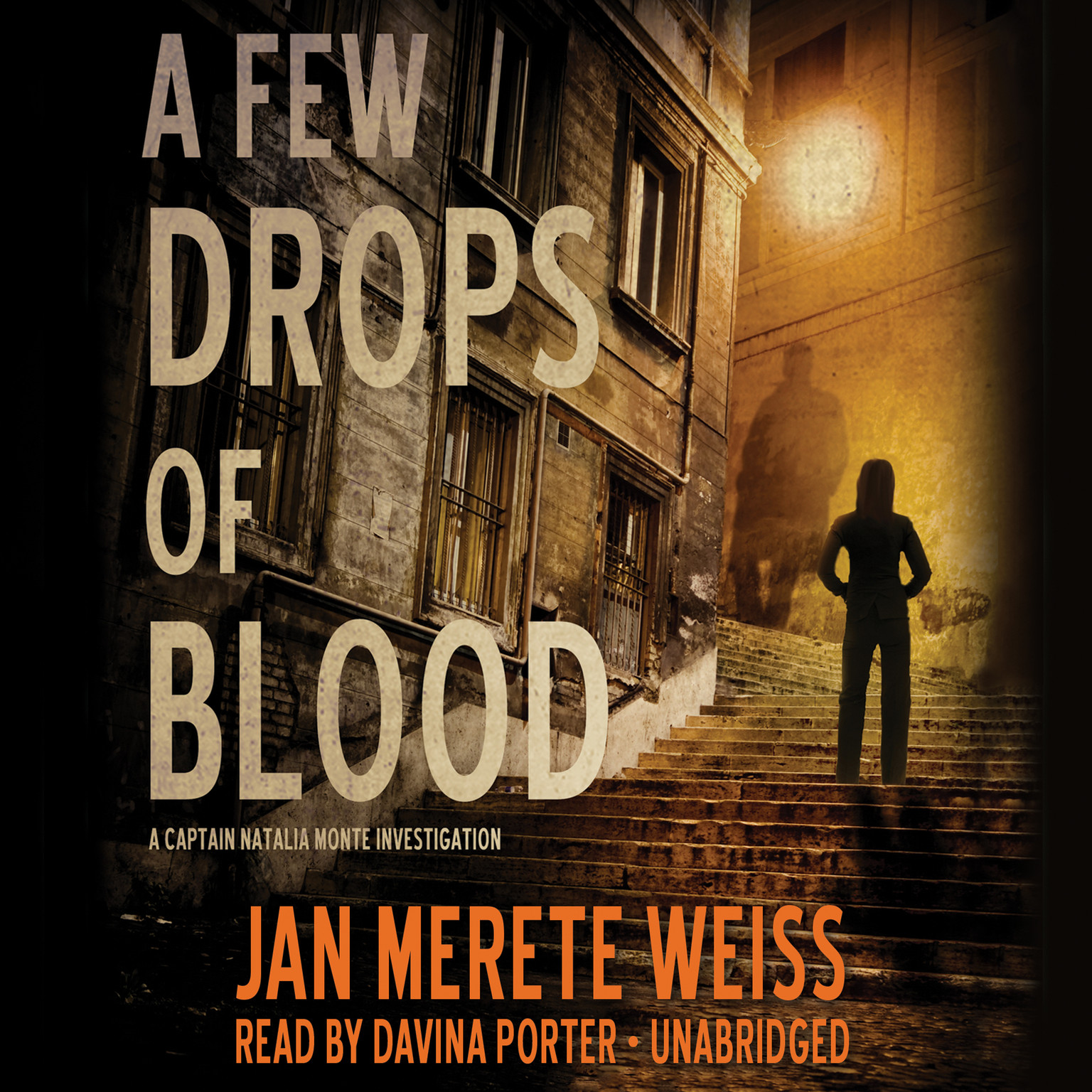 Printable A Few Drops of Blood Audiobook Cover Art