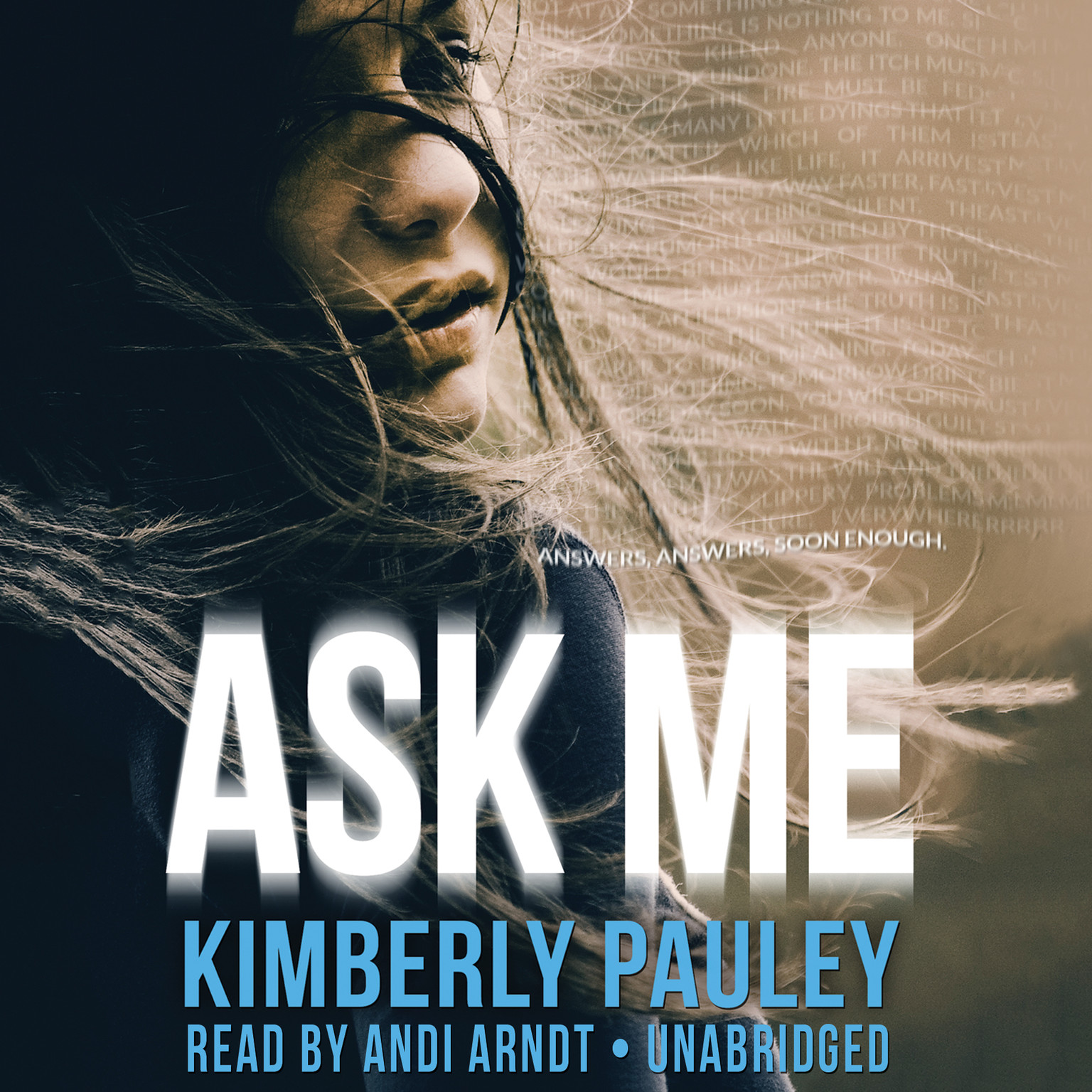 Printable Ask Me Audiobook Cover Art