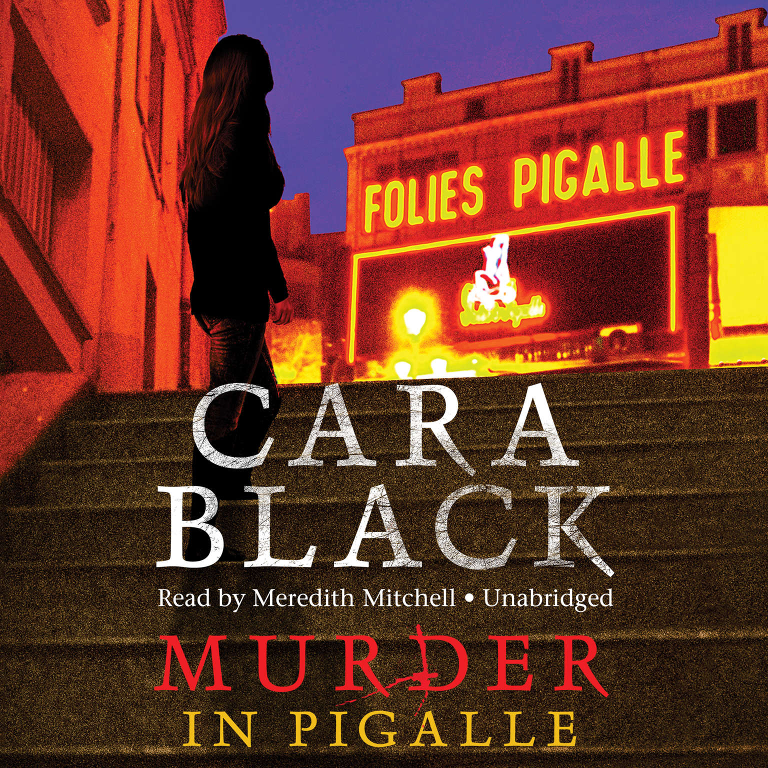 Printable Murder in Pigalle Audiobook Cover Art