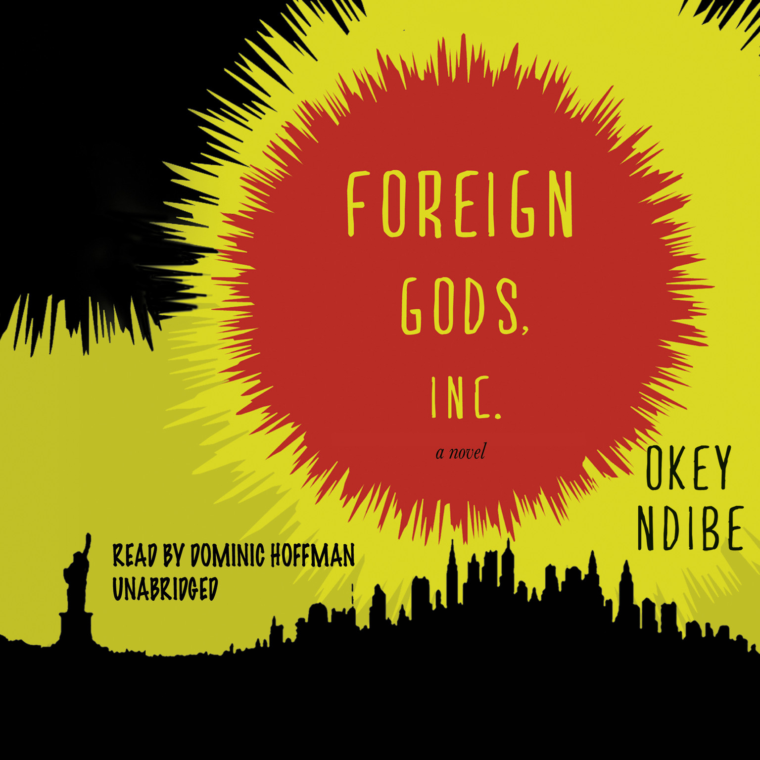 Printable Foreign Gods, Inc. Audiobook Cover Art