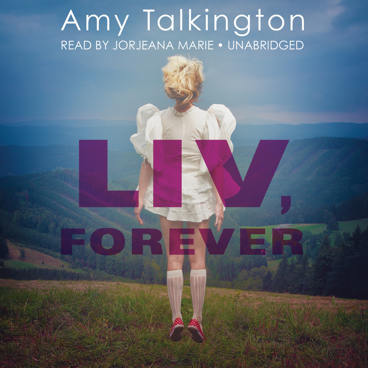 Printable Liv, Forever Audiobook Cover Art