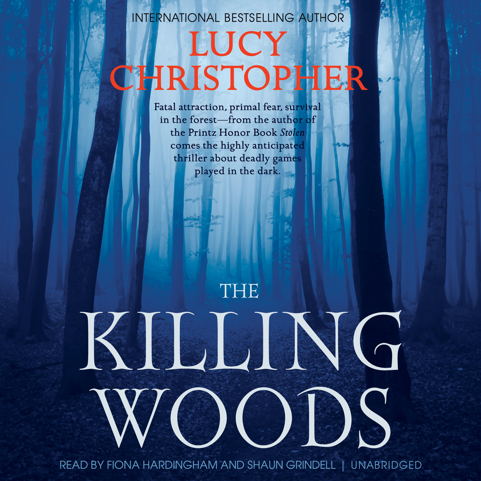 Printable The Killing Woods Audiobook Cover Art