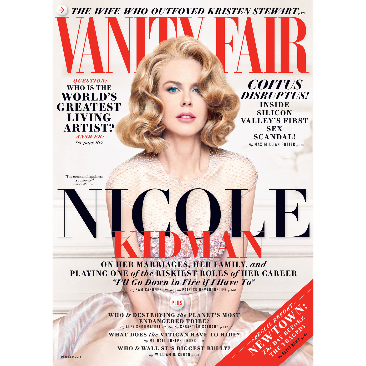 Printable Vanity Fair: December 2013 Issue Audiobook Cover Art
