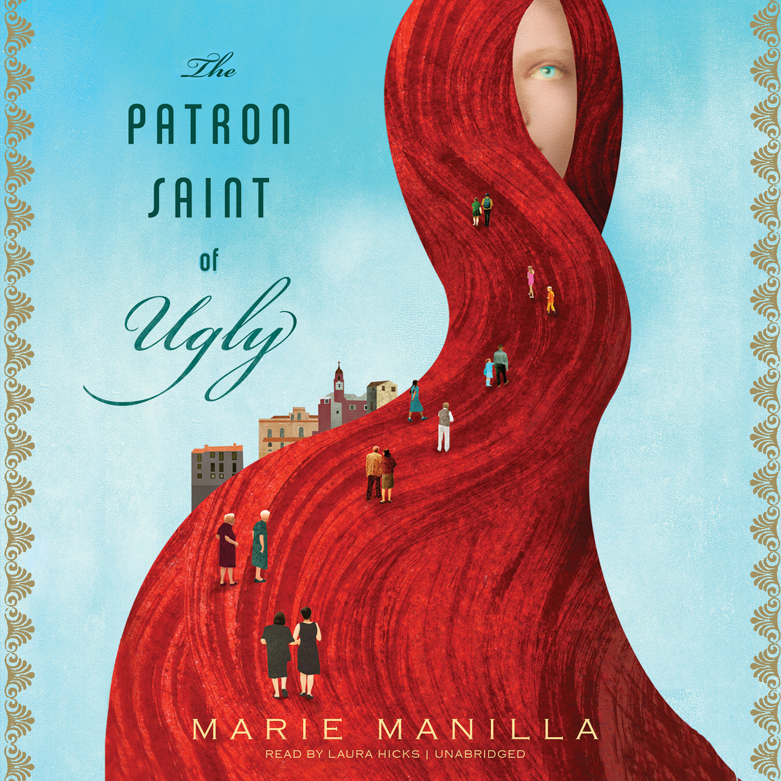 Printable The Patron Saint of Ugly Audiobook Cover Art