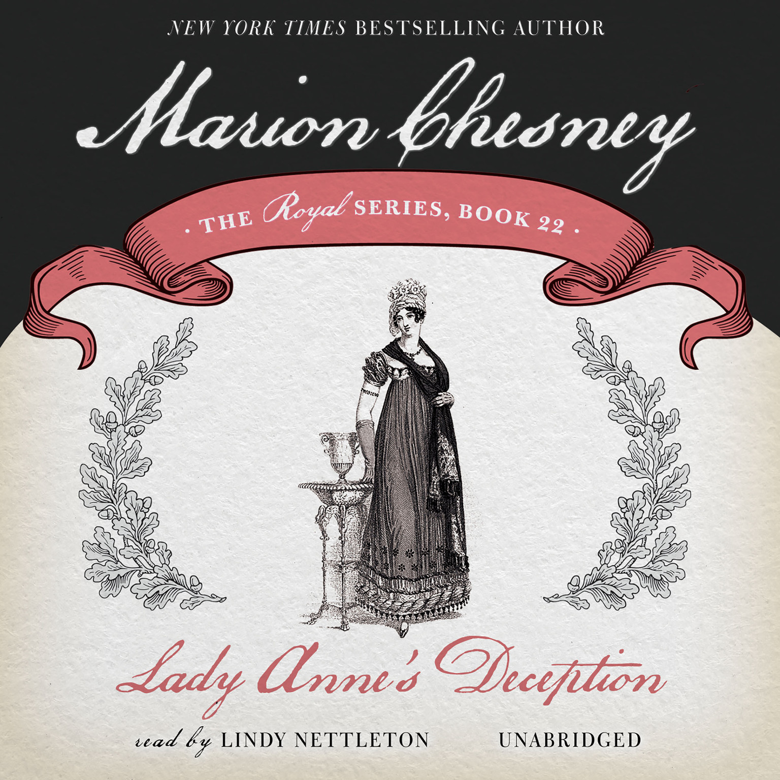 Printable Lady Anne's Deception Audiobook Cover Art
