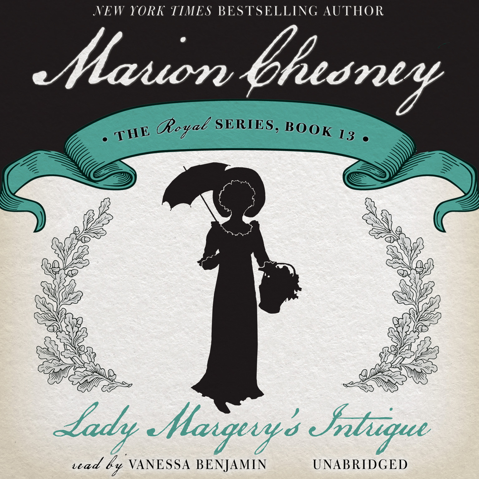 Printable Lady Margery's Intrigue Audiobook Cover Art