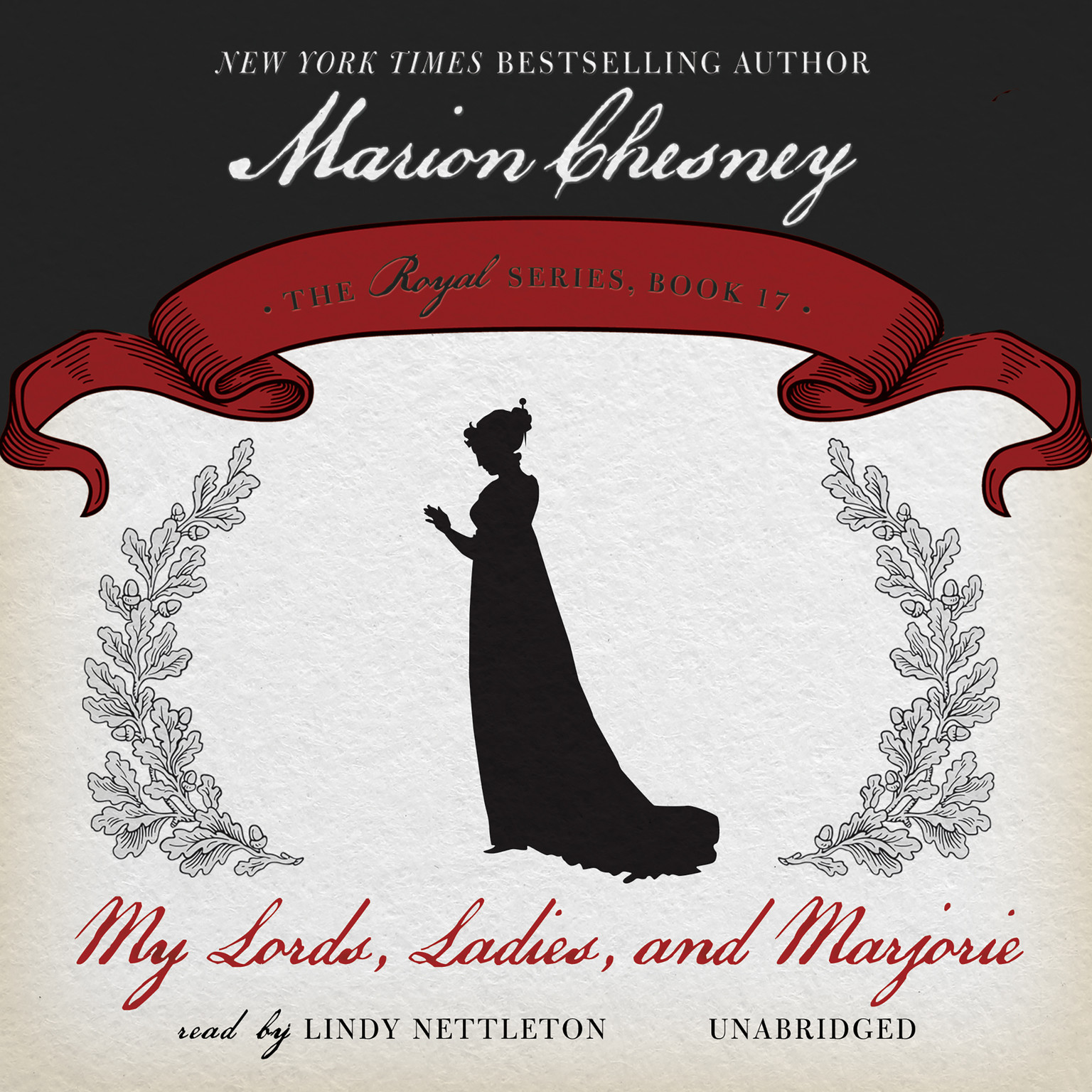 Printable My Lords, Ladies, and Marjorie Audiobook Cover Art