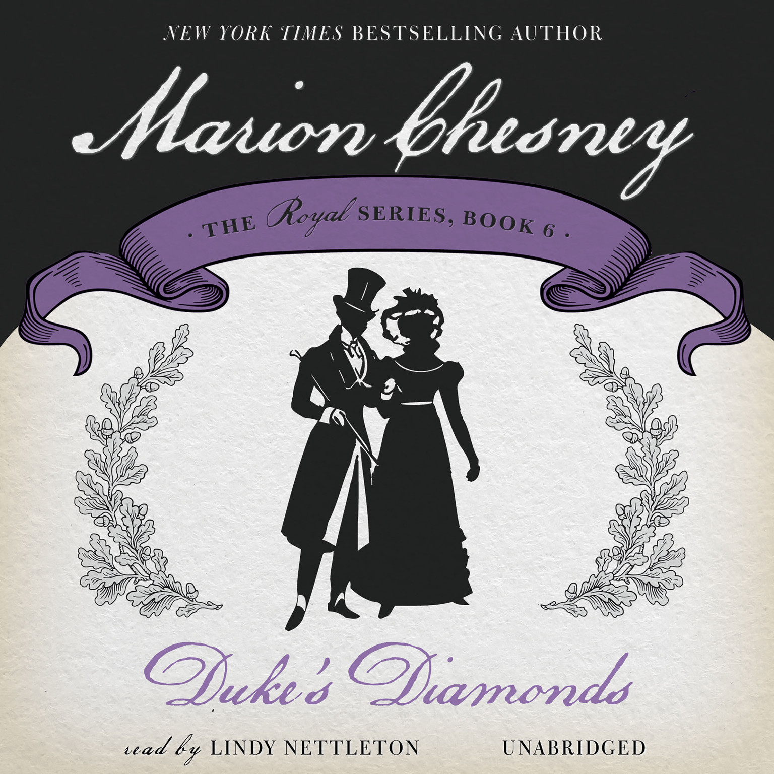 Printable Duke's Diamonds Audiobook Cover Art