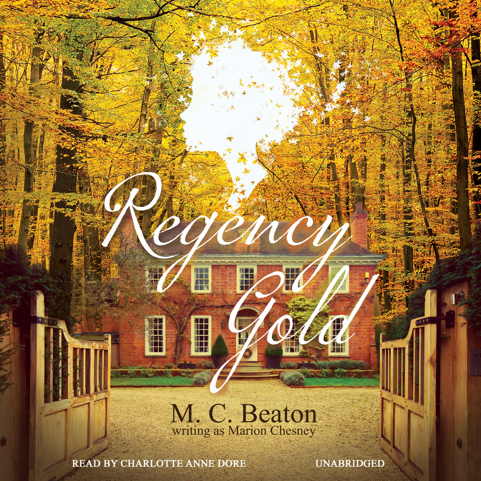 Printable Regency Gold Audiobook Cover Art