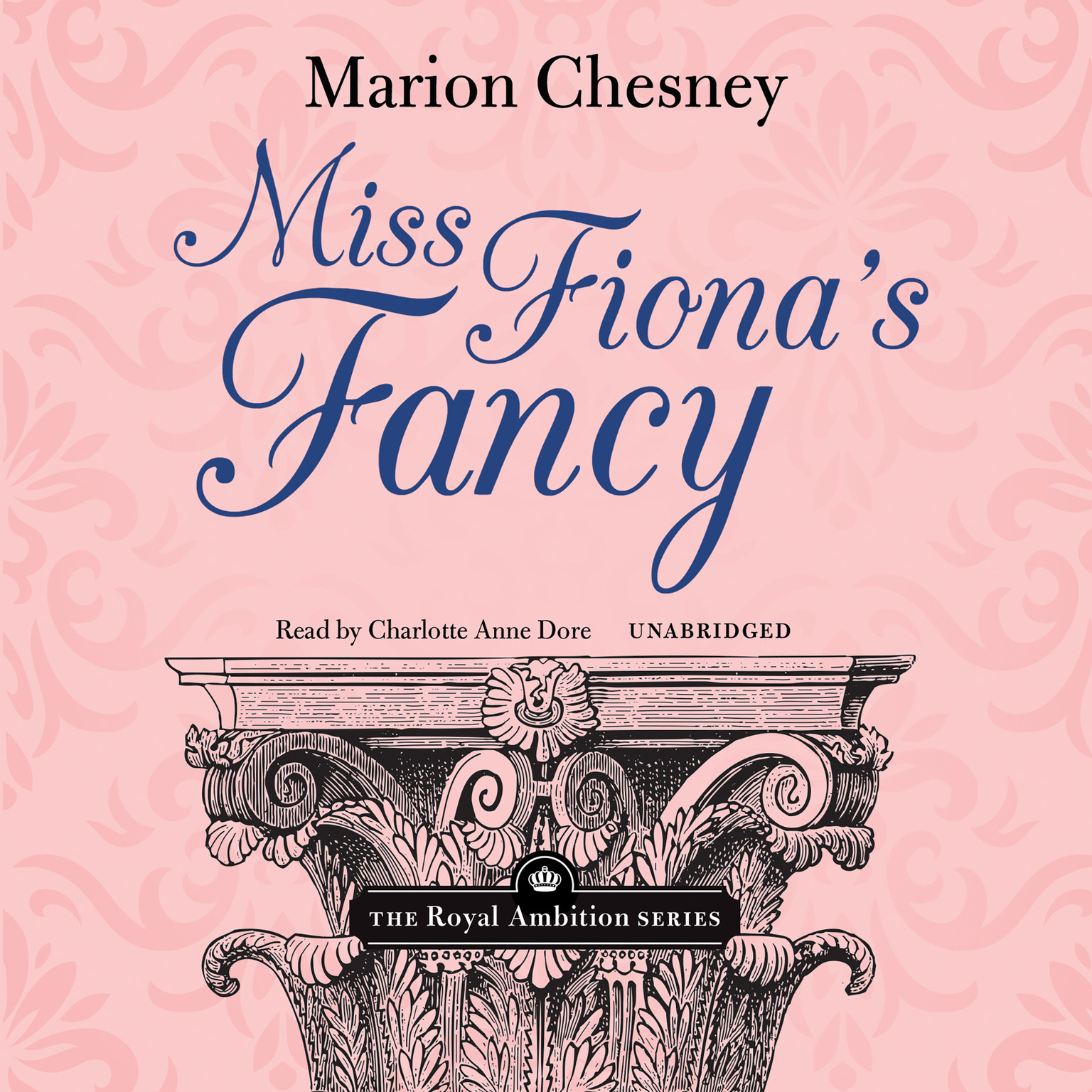 Printable Miss Fiona's Fancy Audiobook Cover Art