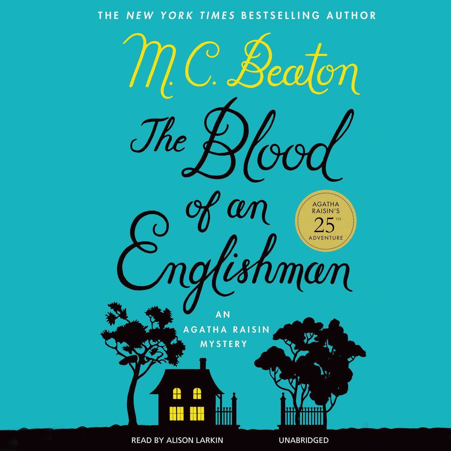 Printable The Blood of an Englishman: An Agatha Raisin Mystery Audiobook Cover Art