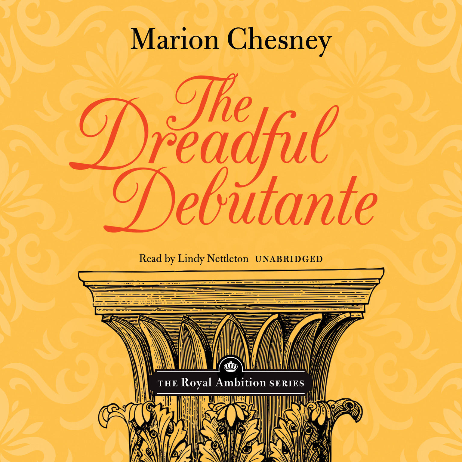 Printable The Dreadful Debutante Audiobook Cover Art