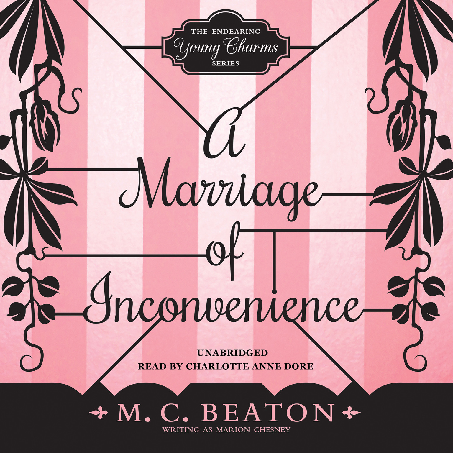 Printable A Marriage of Inconvenience Audiobook Cover Art