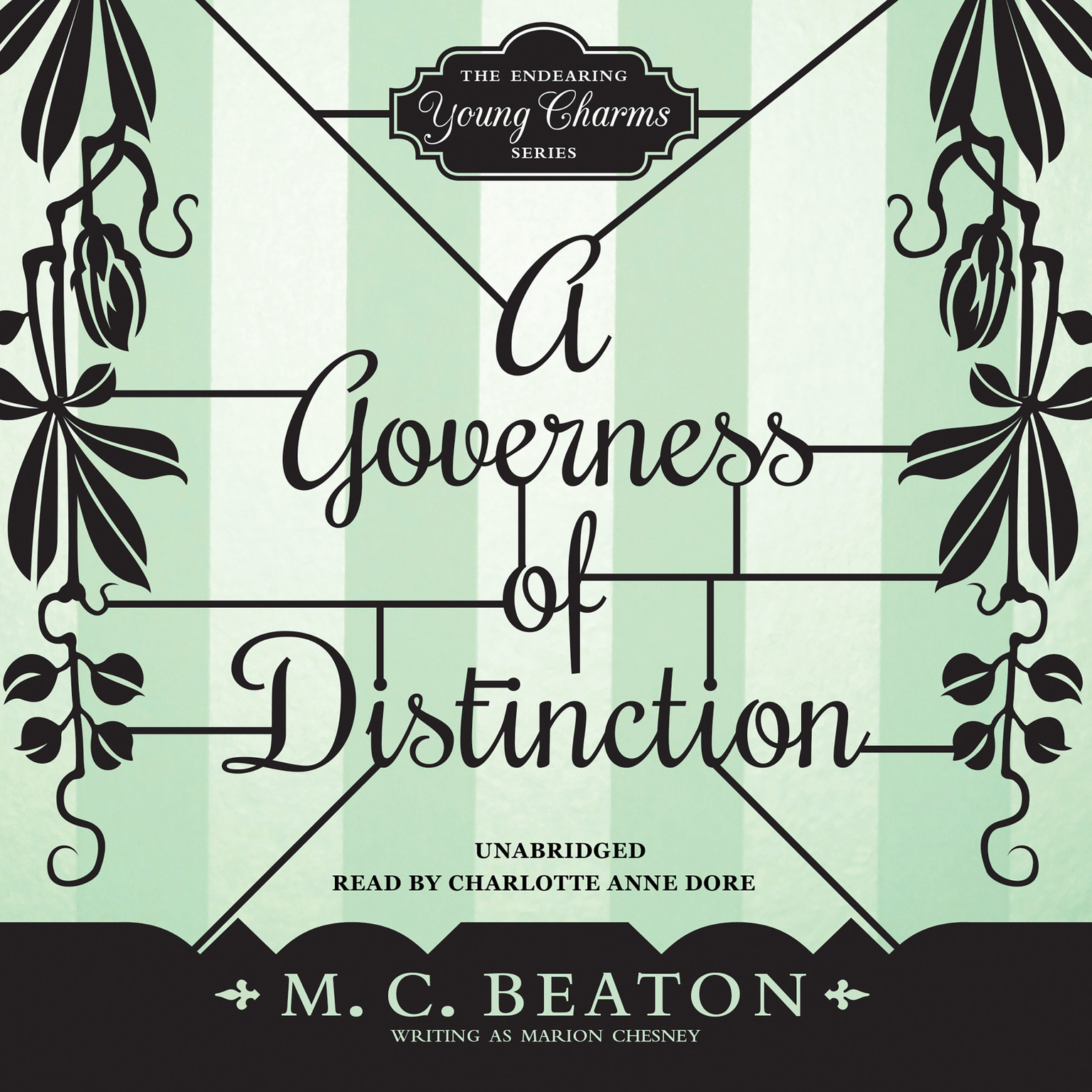 Printable A Governess of Distinction Audiobook Cover Art