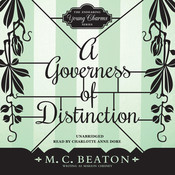 A Governess of Distinction Audiobook, by M. C. Beaton