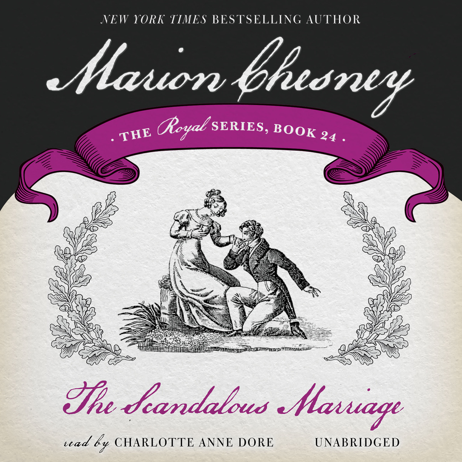 Printable The Scandalous Marriage Audiobook Cover Art