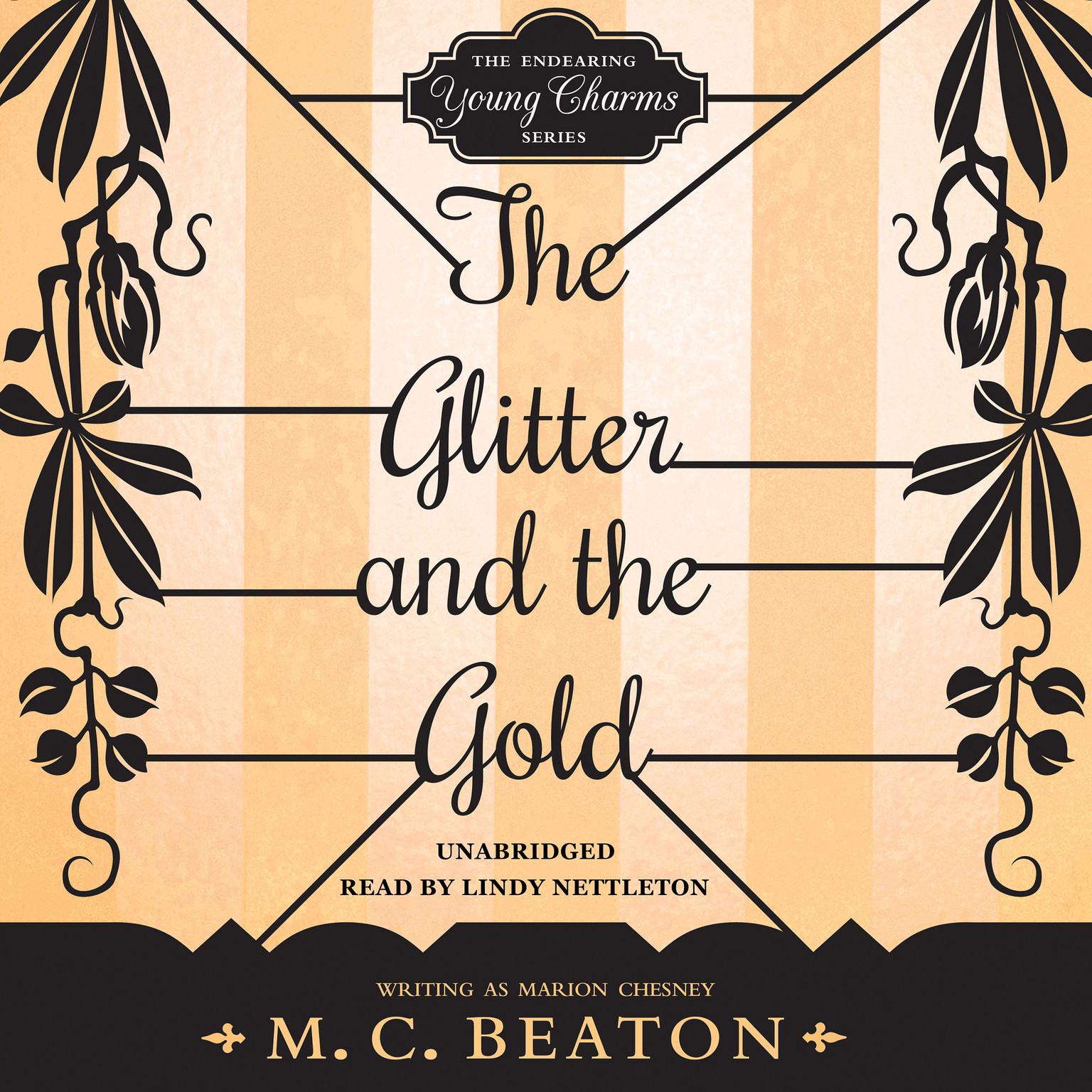 Printable The Glitter and the Gold Audiobook Cover Art