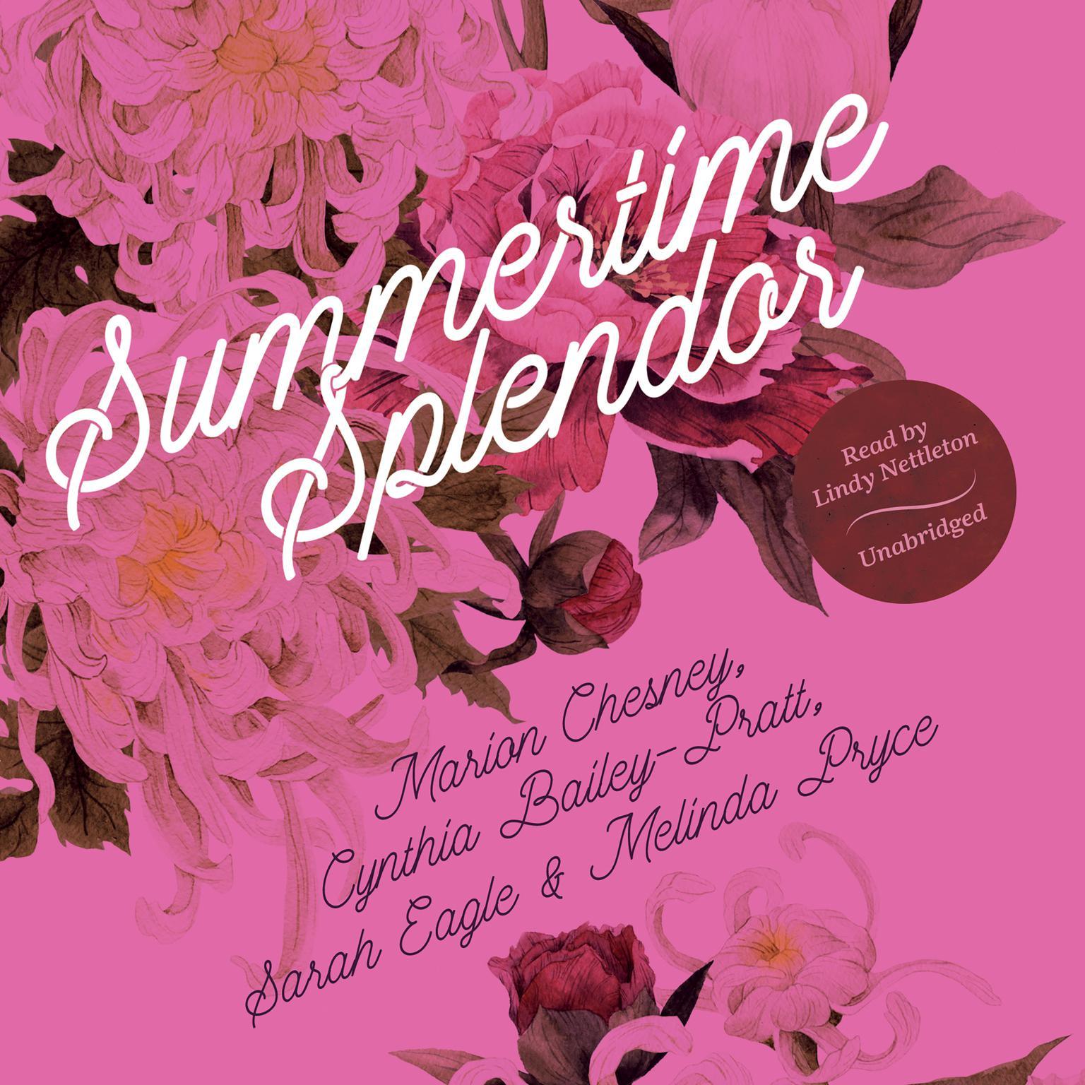 Printable Summertime Splendor Audiobook Cover Art