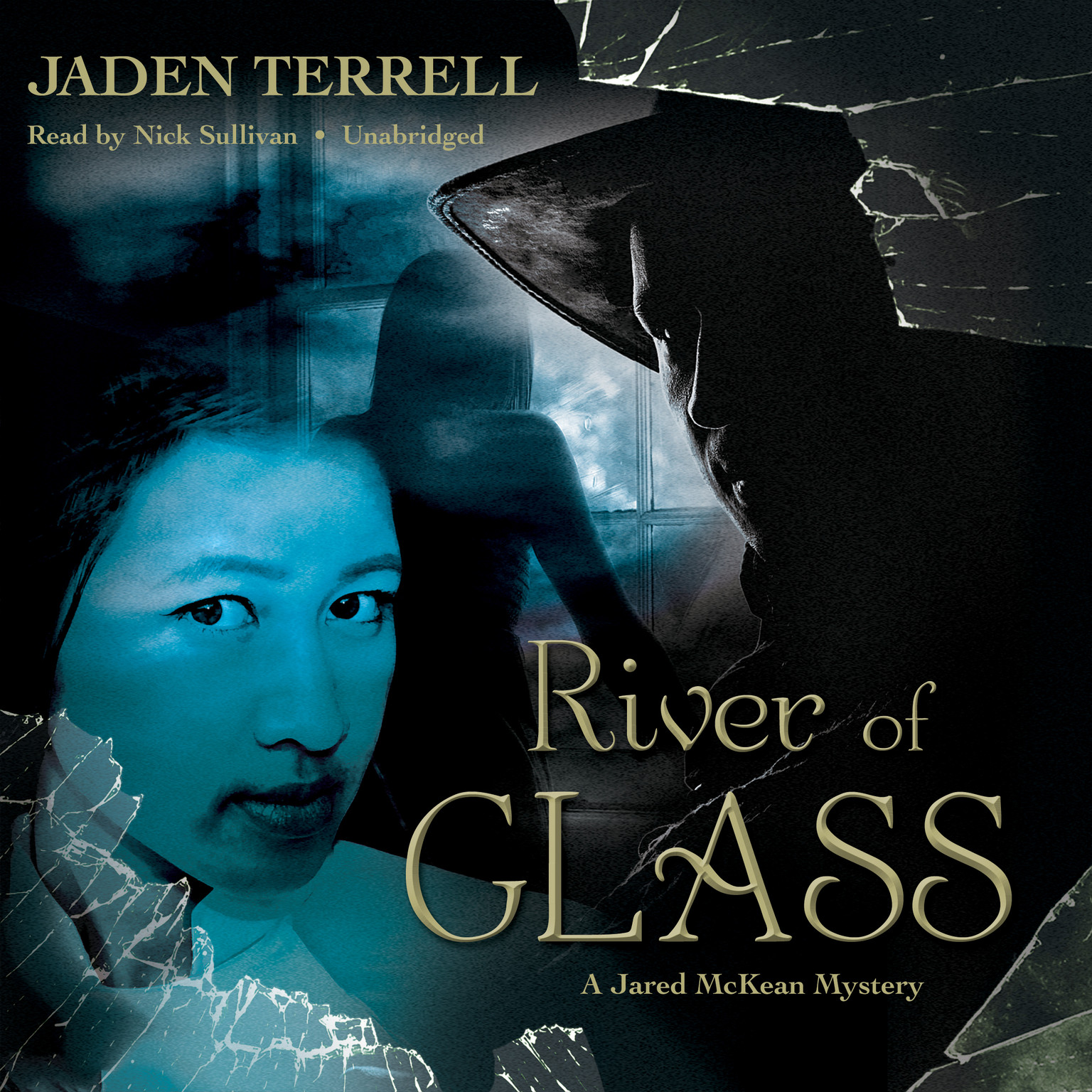 Printable River of Glass Audiobook Cover Art