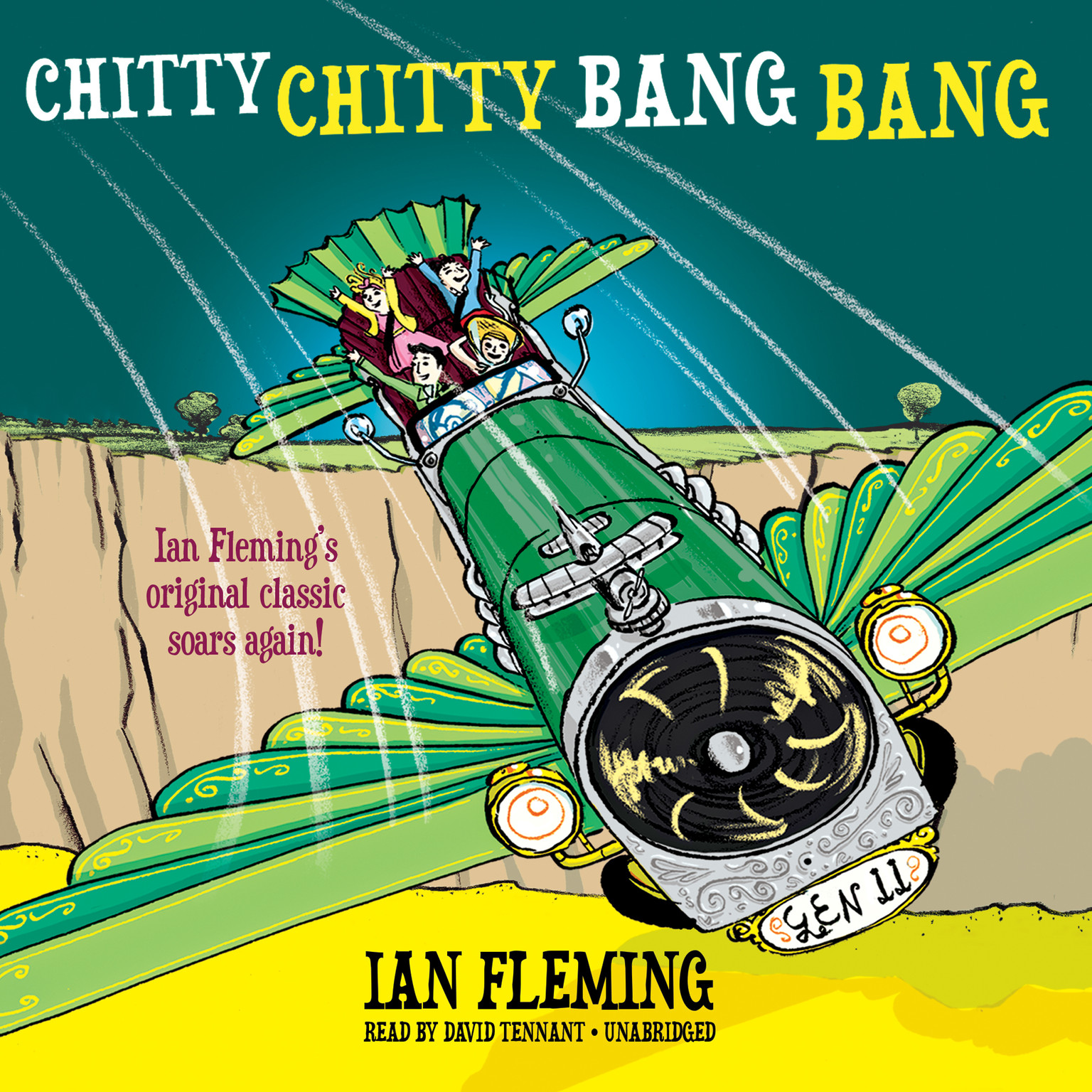 Printable Chitty Chitty Bang Bang: The Magical Car Audiobook Cover Art