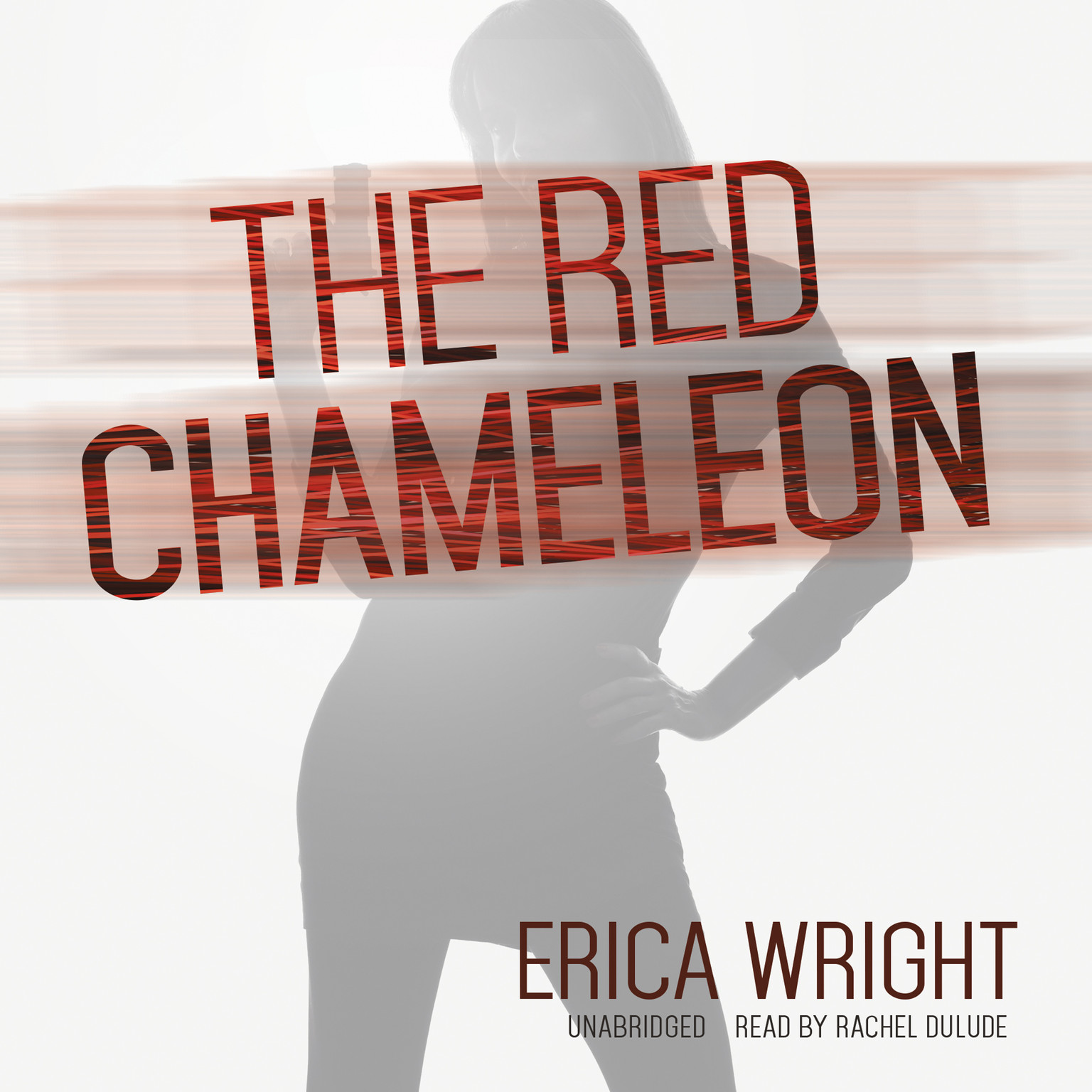 Printable The Red Chameleon Audiobook Cover Art