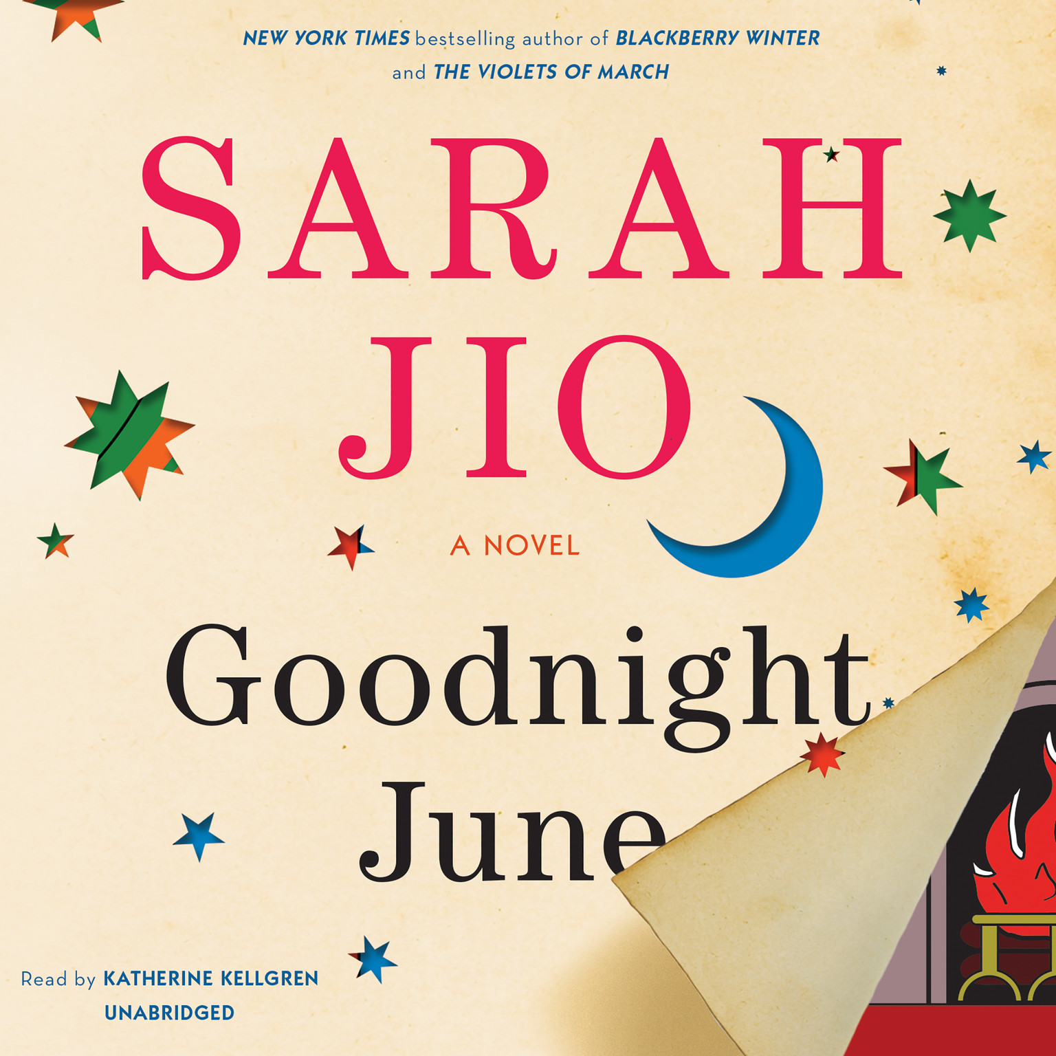 Printable Goodnight June: A Novel Audiobook Cover Art