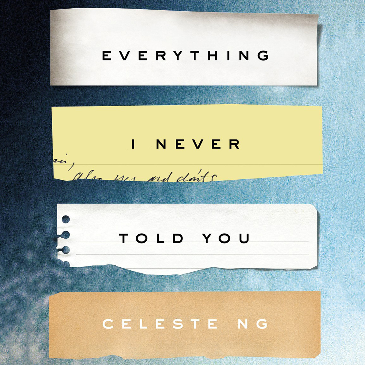 Printable Everything I Never Told You Audiobook Cover Art